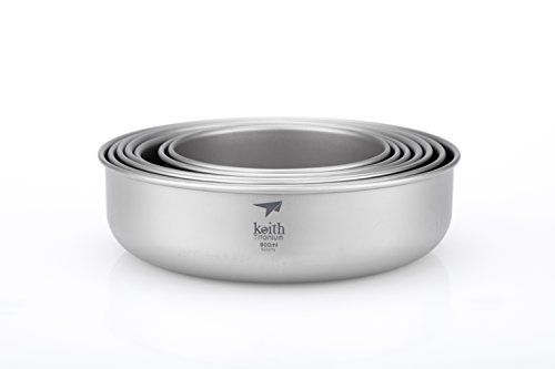 Keith Titanium Ti5375 7-Piece Bowl Set by KEITH TITANIUM