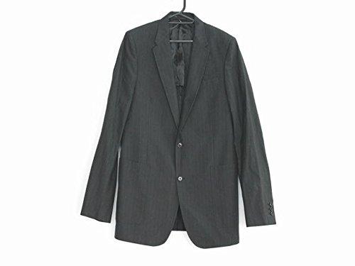 (ミュウミュウ) MIUMIU ジャケット メンズ 黒×グレー 【中古】 B07DPP5X8C  -