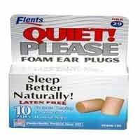 Flents Foam Ear Plugs Quiet Please 10 Pair (PACK OF 2)