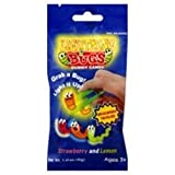 Lightning Bugs Gummy Candy Bag - Grab a bug Light it up - New and Improved Tong Included
