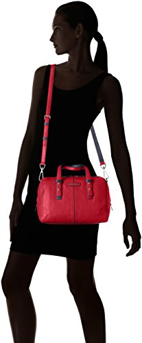Vera Red Bradley Cardinal Satchel Gallatin Leather TxqvAUwYS
