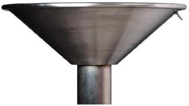 立水栓 パン ガーデンパン ステンレスステンレスボウル 立水栓 水栓柱に設置 和風 水鉢