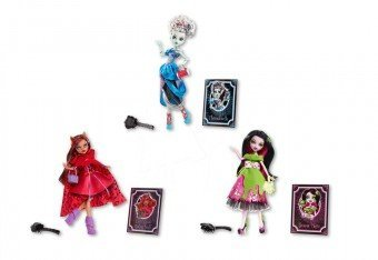 Monster High Scary Tale Dolls Set of 3