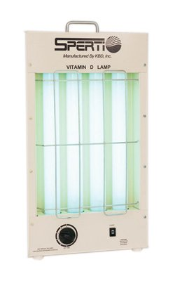 Standard Vitamin D Uv F Florescent Lamp, Tabletop Model