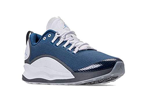Jordan Mens Zoom Tenacity Low Top Lace Up Basketball Shoes, Blue, Size 9.5