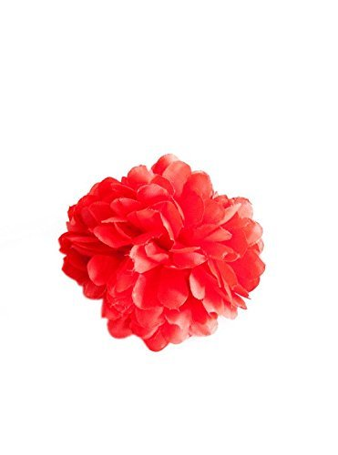 La Senorita Flamenco Hair Flower Spanish Hair Clip Flamenco Dancer red]()