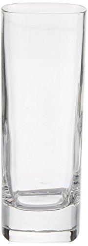 Luigi Bormioli Strauss High Ball Glass, 9-Ounce, Set of 6