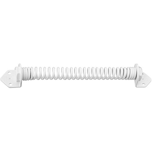 National Hardware N342-741 V850 Door and Gate Spring in White by National Hardware