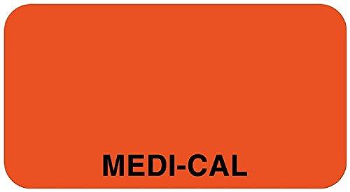 United Ad Label Account Identification Label  1 5 8  X 7 8    Medi Cal