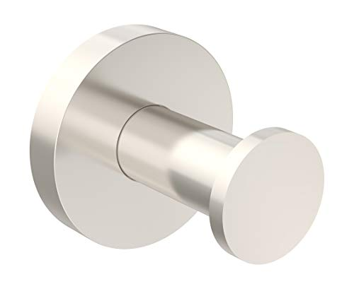 - Symmons 673RH-STN Identity Wall-Mounted Robe Hook in Satin Nickel