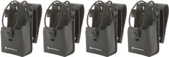 Motorola RLN6302 Leather Case With 3-Inch Swivel (4-Pack)