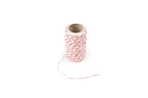 Fox Run 57673 Cotton Twine, Red, 65.6-Yards by Fox Run