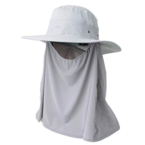Lenikis Outdoor Sun Protection Hats with Net Hat Bucket Hat with Net Mesh