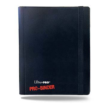 (Ultra Pro PRO-Binder, 4-Pocket, Black)