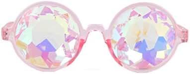 Careonline Festivals Kaleidoscope Glasses Rainbow Prism Sunglasses Goggles