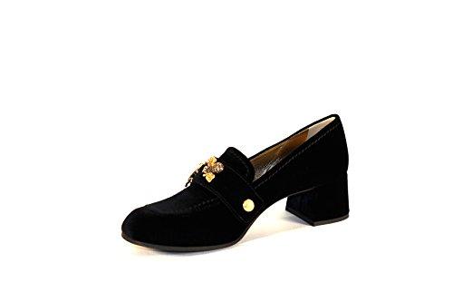 Mujer Shoe Terciopelo Car Negro Mocasines Cf4xqq5z