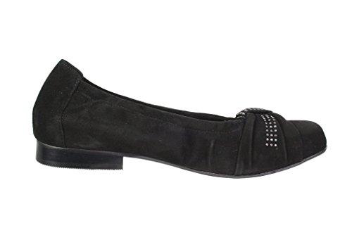 Semler Black Ballet D2278 Flats 001 Women's 042 qwqUCrT