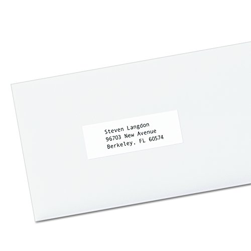 Avery Self-Adhesive Address Labels for Copiers, White, 1