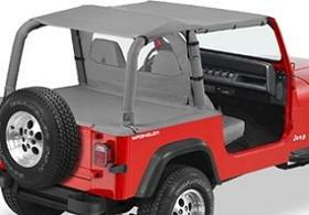 Bestop Bikini Top For 1992   1993 Jeep Wrangler