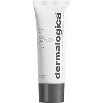 Cheap Dermalogica Sheer Tint SPF 20 Face Moisturiser, Dark, 1.3 Ounce