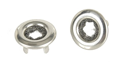 - 68-74 Nova 68-72 GM A Body 68-81 Camaro Firebird Door Lock Knob Ferrules (Sold as a Pair)