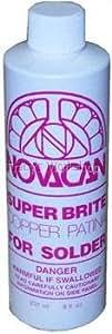 Novacan Super Brite Copper Patina for Solder, 8 oz
