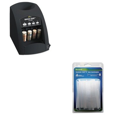 KITMNK925045RSICO1000 - Value Kit - Monarch Marking Tagger Tail Fasteners (MNK925045) and Royal Sovereign Fast Sort CO-1000 One-Row Coin Sorter (Monarch Marking Tagger Fasteners)