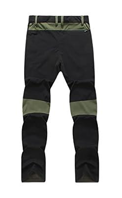 Geval Men's Outdoor Quick drying Hiking Active Pants