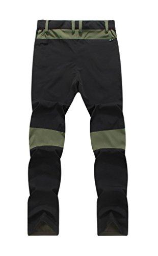 Hiking Sneldrogend Army Active Heren Green Geval Outdoor Pants Z4W1xBqwwT