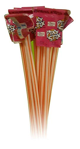 Giant Pixy Stix 16 Inch Long 12 units Candy Sticks (Orange)