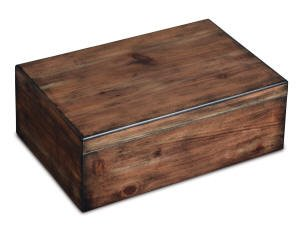 Craftsman's Bench Rustic Humidor by Craftsman's Bench