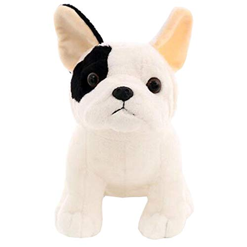 LULEZONTOY French Bulldog Plush Toy Sitting Pose Mascot Dog Stuffed Doll for Kids Gift 8.7