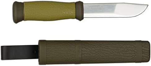 Morakniv Outdoor 2000 Fixed Blade Knife with Sandvik Stainless Steel Blade, 4.3-Inch