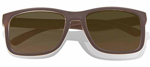 Glossy de Gradient Frame KZ Brown Classic soleil adulte Brown Lens Lunettes UIxw5wqZH