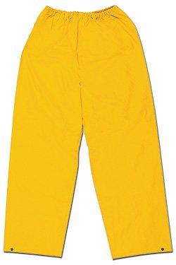 River City (MCR Safety Garments) 200PWM - Classic General Purpose Rain Pants - Medium, Yellow, Polyester/PVC, Pack of 15