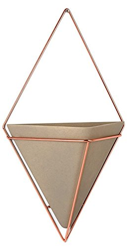 Cheap  Umbra Trigg Hanging Planter Vase & Geometric Wall Decor Container - Great..