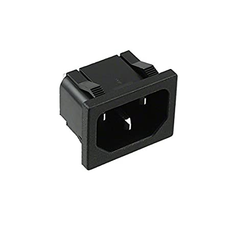 Pack of 100 PWR ENT RCPT IEC320-C14 PNL SLDR 701W-X2//02