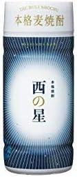 西の星 麦 20度 [ペット] 200ml x 30本[ケース販売] [三和酒類/麦焼酎/日本/大分]