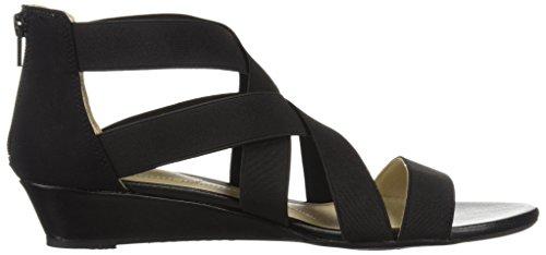 LifeStride Women's Yasemin Wedge Sandal Black gq1b8eL2S