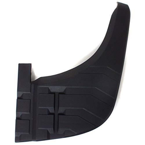 Bumper Rear Plastic (Bumper Step Pad For 2007-2013 Toyota Tundra Rear Right Plastic Black)