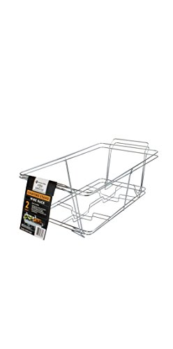 - MM'S Buffet Chafer, Food Warmer Rack, Chrome Wire Rack, Chafing Rack. Full Size Set of 4