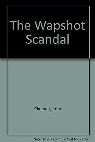book cover of The Wapshot Scandal