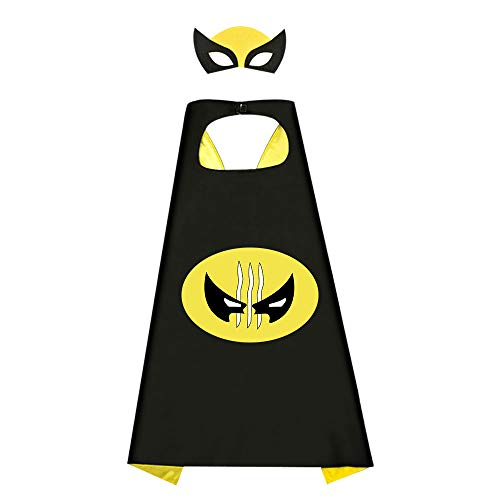 Birthday Presents Gifts for 3-12 Year Old Boys, Christmas gift stocking fillers Cartoon Super Hero Satin Capes Dress up for Kids Party Favor Toys for 3-12 Year Old Boys (Dress Up Games For 12 Year Olds)
