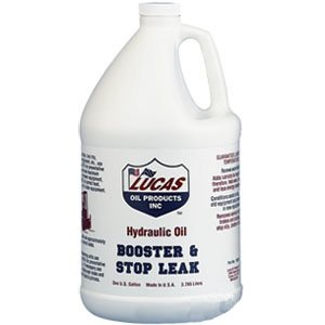 Lucas Oil 10018-4PK Hydraulic Oil Booster and Stop Leak - 1 Gallon, (Case of 4)