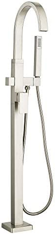 American Standard 7184951.295 Times Contemporary Square Freestanding Tub Faucet, Brushed Nickel