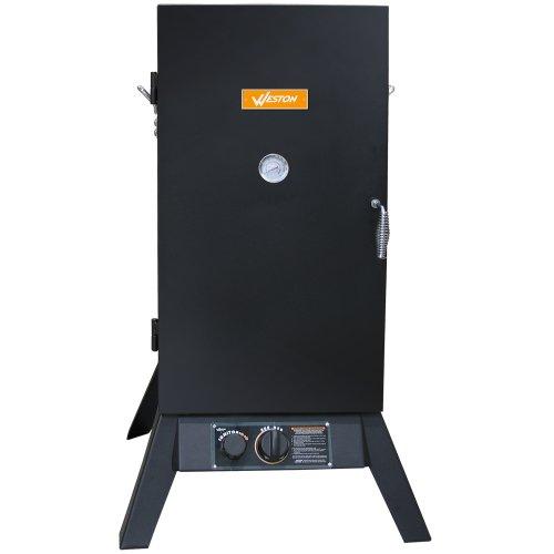 Weston 30-Inch Outdoor Propane Vertical Smoker (41-0701-W)