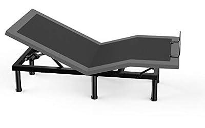 Milemont Adjustable Bed BaseFrame Smart Electric Beds Foundation