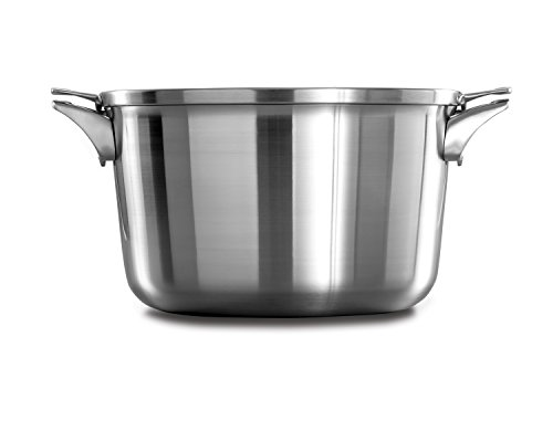 Calphalon Premier Space Saving Stainless Steel 12qt Stock Pot with Cover by Calphalon