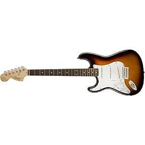 Squier Affinity Stratocaster LH IL Electric Guitar – Brown Sunburst