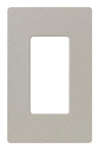 Lutron SC-1-ST Claro Single-gang Wallplate Stone